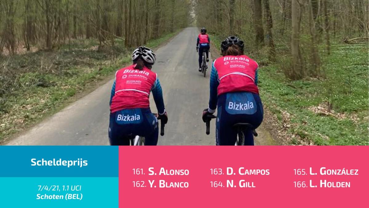 Bizkaia-Durango participará mañana miércoles en el Scheldeprijs 2021