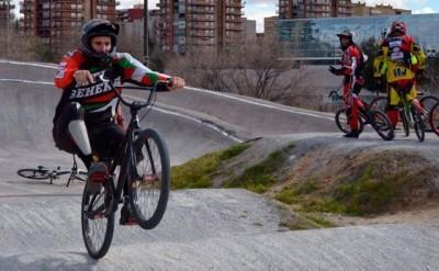 Buen ambiente en el Clinic BMX Pablo Galán