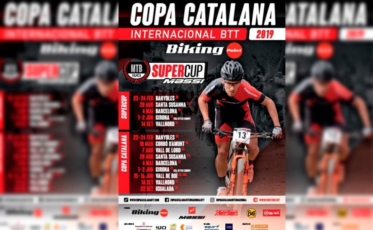 Calendario 2019 de la Copa Catalana Internacional BTT