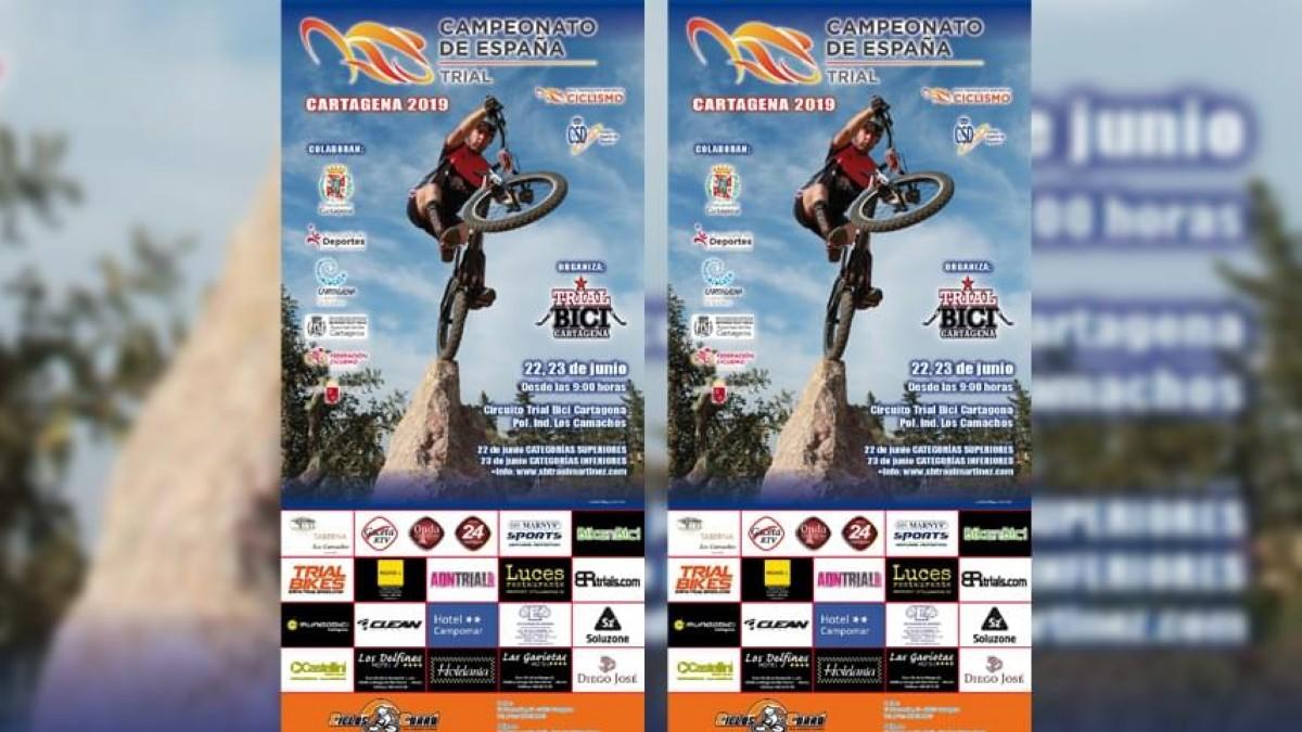 Cartagena celebra este fin de semana el Campeonato de España de Trial 2019