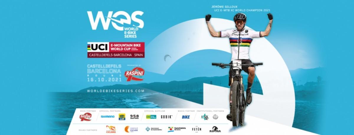 Castelldefels escenario de la última prueba de la Copa del Mundo de MTB para ebikes