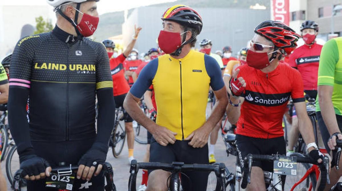 Celebrada sin incidencias la Indurain 2020 en el regreso del calendario cicloturista