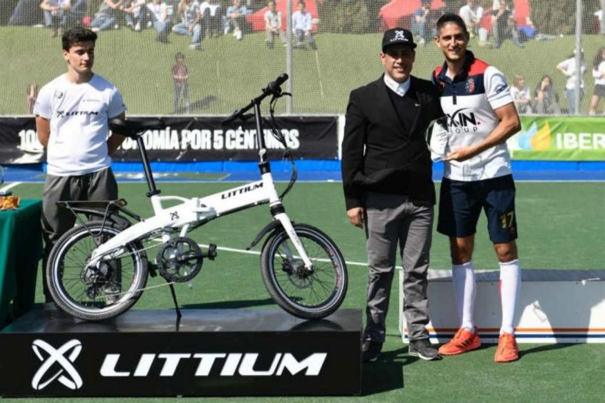 Ciclismo urbano y hockey hierba de la mano gracias a Littium