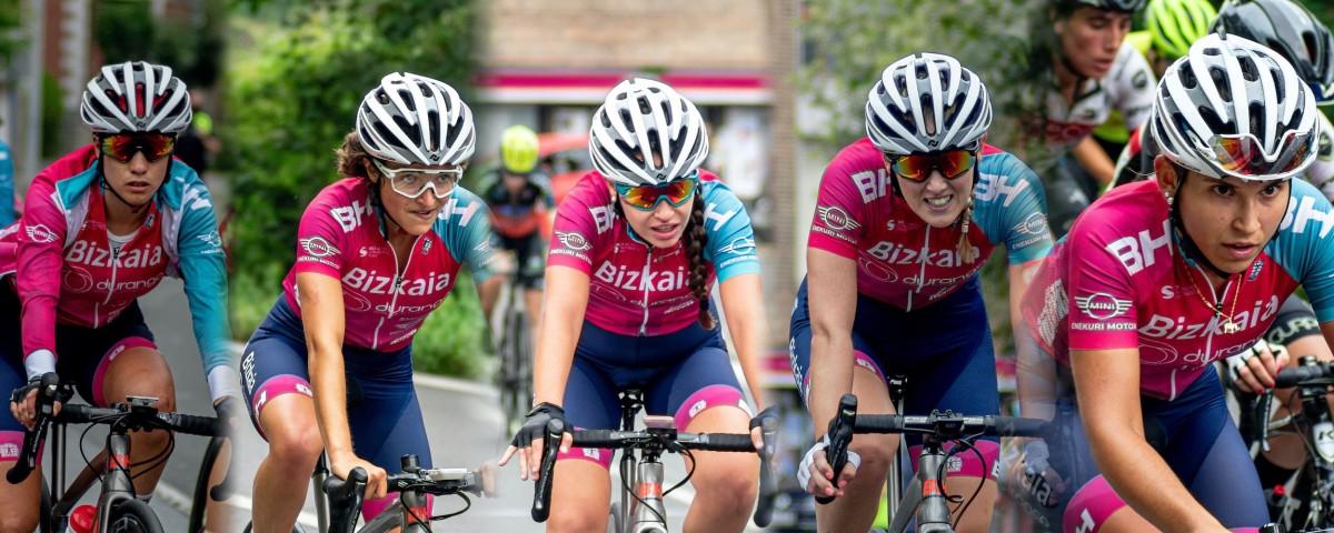 Cinco renovaciones en el equipo Bizkaia-Durango para la próxima temporada