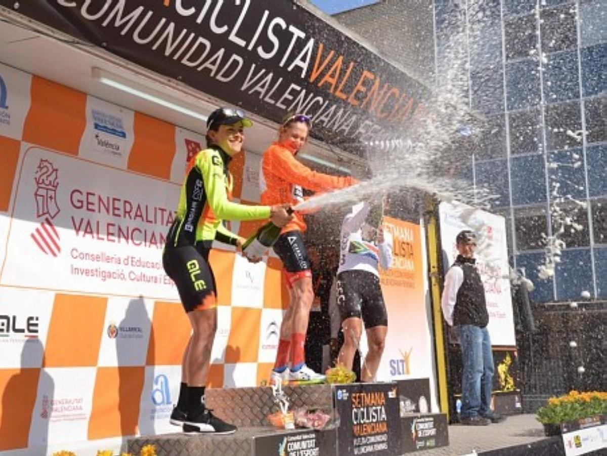 Clara Koppenburg ganadora de la Setmana Ciclista Valenciana