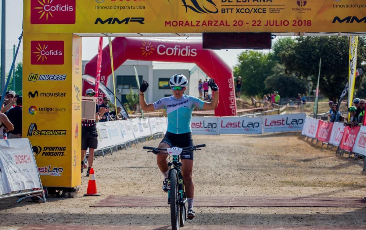 Circuito Xco Moralzarzal : Claudia galicia hace buenos los pronósticos y es la nueva campeona
