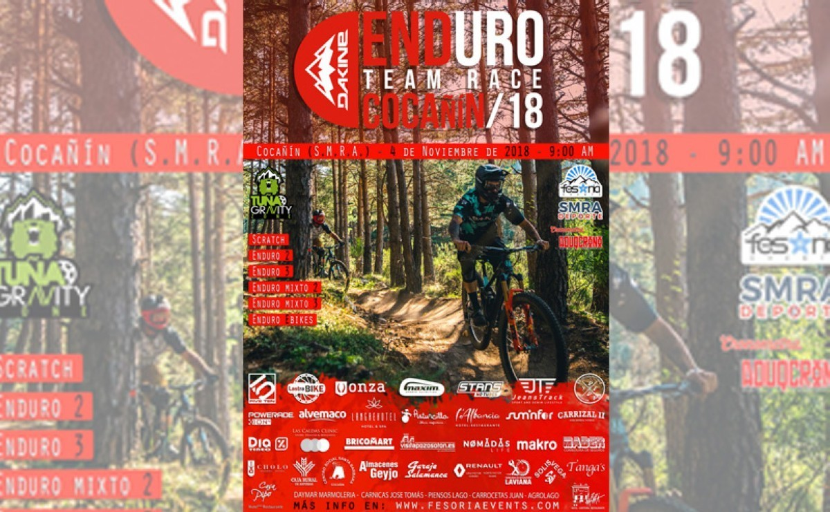 Cocañín despedirá la temporada de Enduro MTB en Asturias