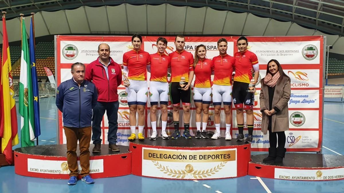 Comenzó en Dos Hermanas la Copa de España de Pista