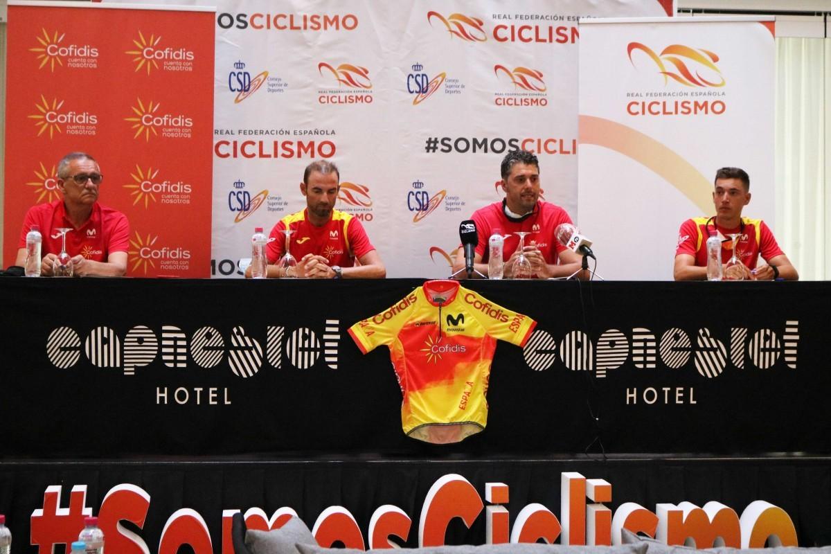 Comienza la concentración de la Selección Española de ciclismo en Altea