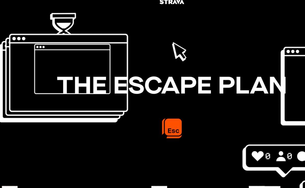 Comienza The Escape Plan, un nuevo reto de Strava