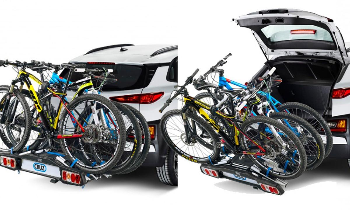 Cómo transportar tu bicicleta de forma eficiente capítulo 2: Portabicicletas de bola Cruz