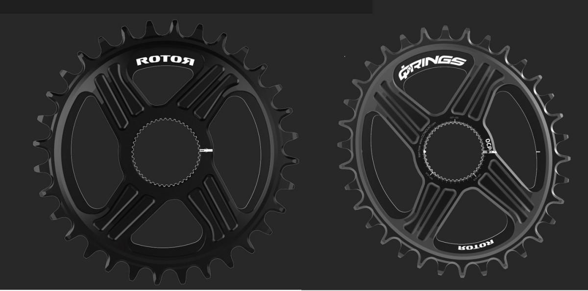 Compatibilidad total con los nuevos platos Rotor Universal Tooth MTB