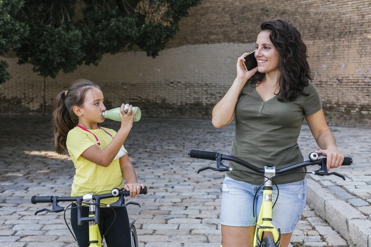 Consejos de hidratación para ciclistas<br>Que no te pare el calor