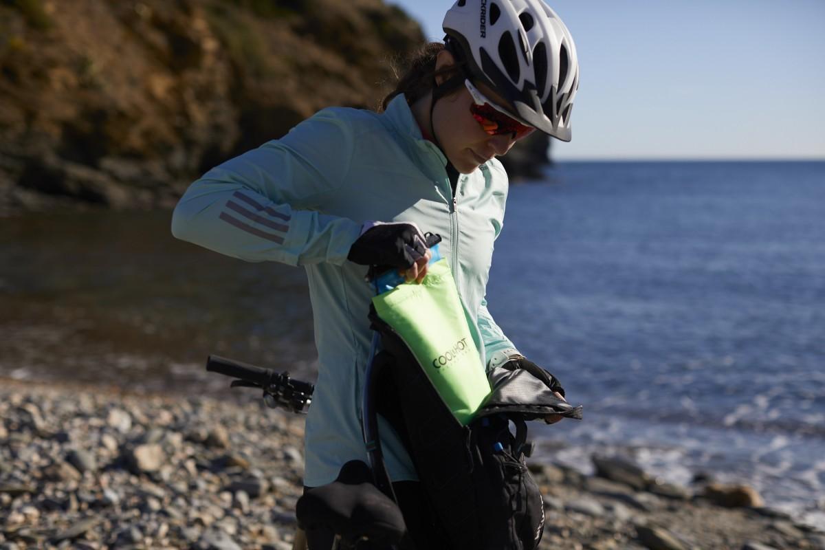 Cool and Hot la funda nueva térmica para deportistas que mantiene el agua fría