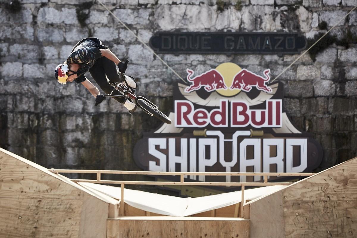 Corey Walsh y Gary Young Capitanes de la primera edición Red Bull Shipyard