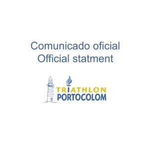 Coronavirus: El triatlón de Portocolom se aplaza al 21 de junio