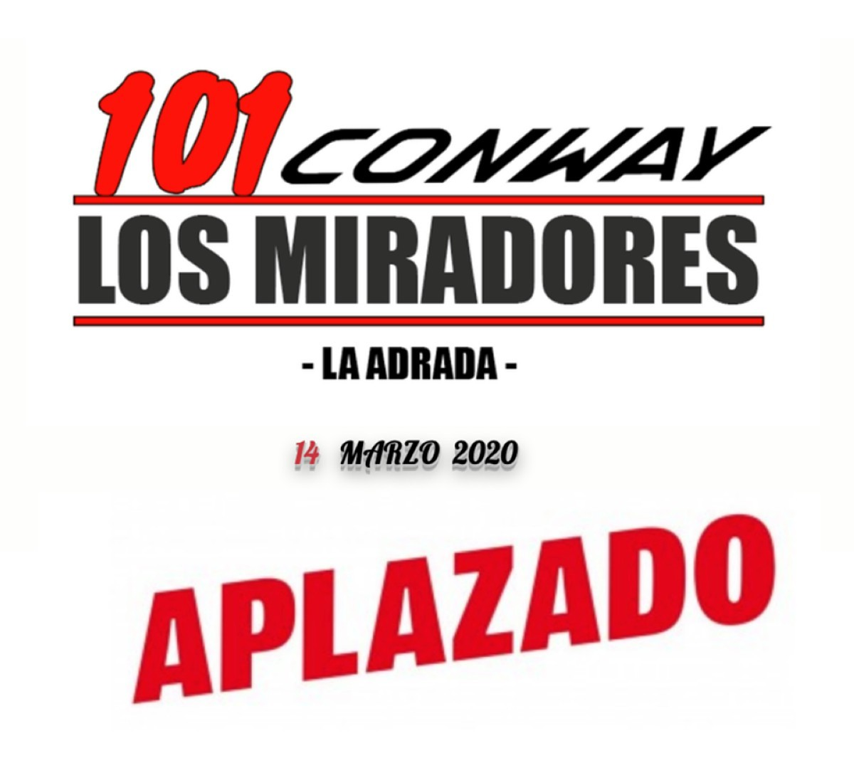 Coronavirus: La 101 Los Miradores se disputará en septiembre