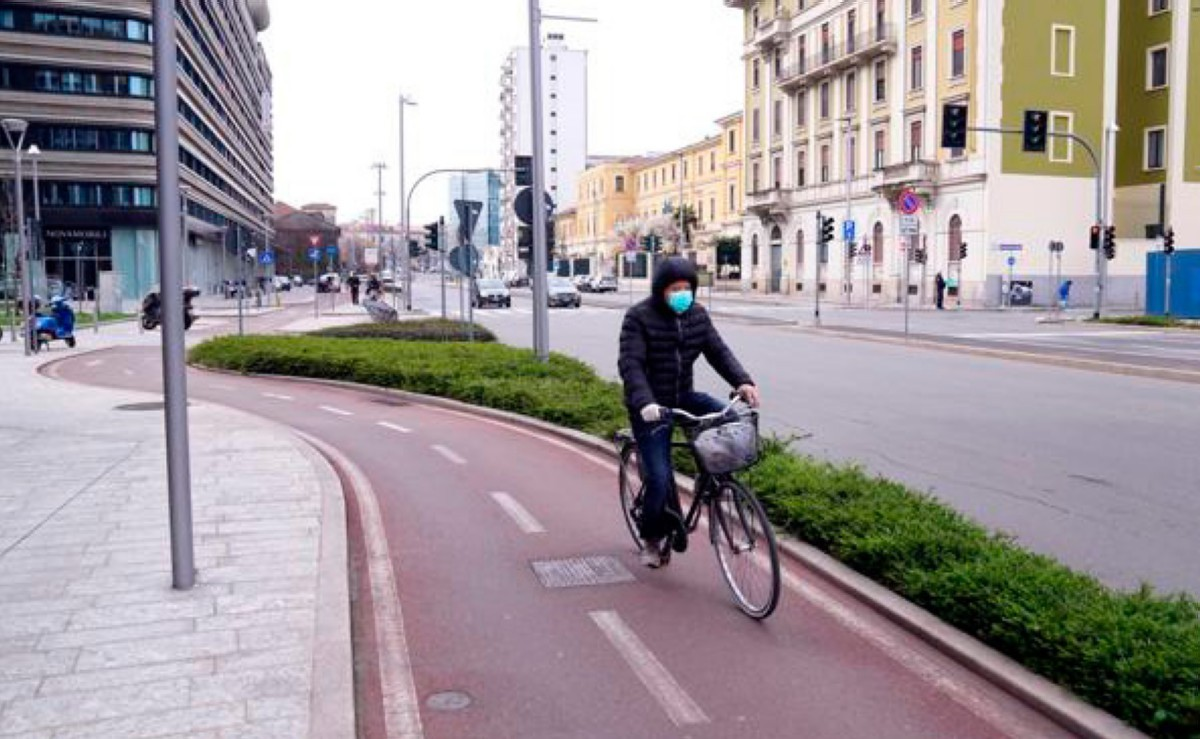 Coronavirus:  Se desaconseja la práctica del ciclismo en Italia
