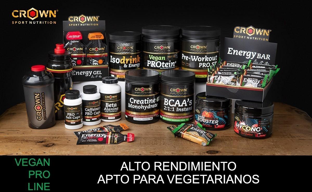 Crown Sport Nutrition crea una línea de productos veganos de alto rendimiento