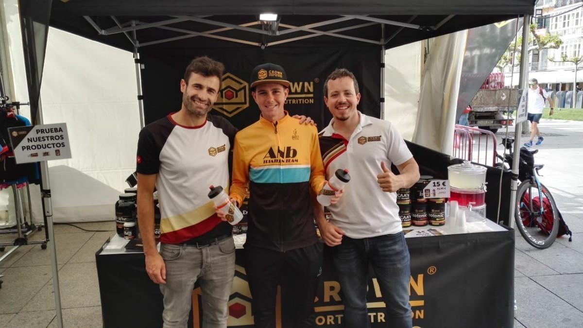Crown Sport Nutrition visita Vitoria en la Orbea Gran Fondo