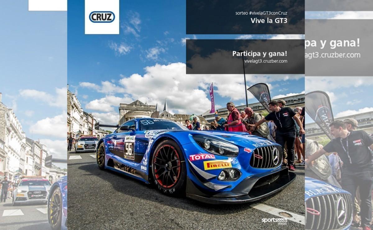 Cruz te invita a vivir la GT3 en el Circuito de Barcelona
