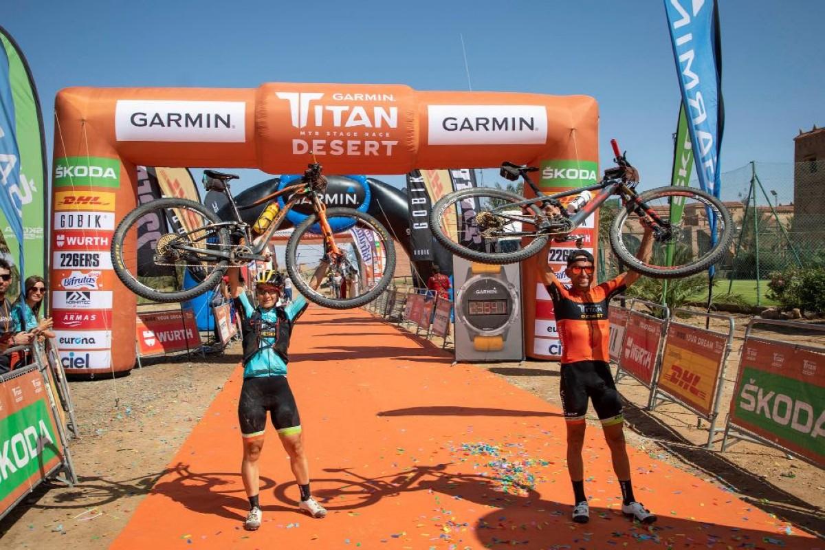 Cuarta victoria consecutiva para Josep Betalú en la Titan Desert