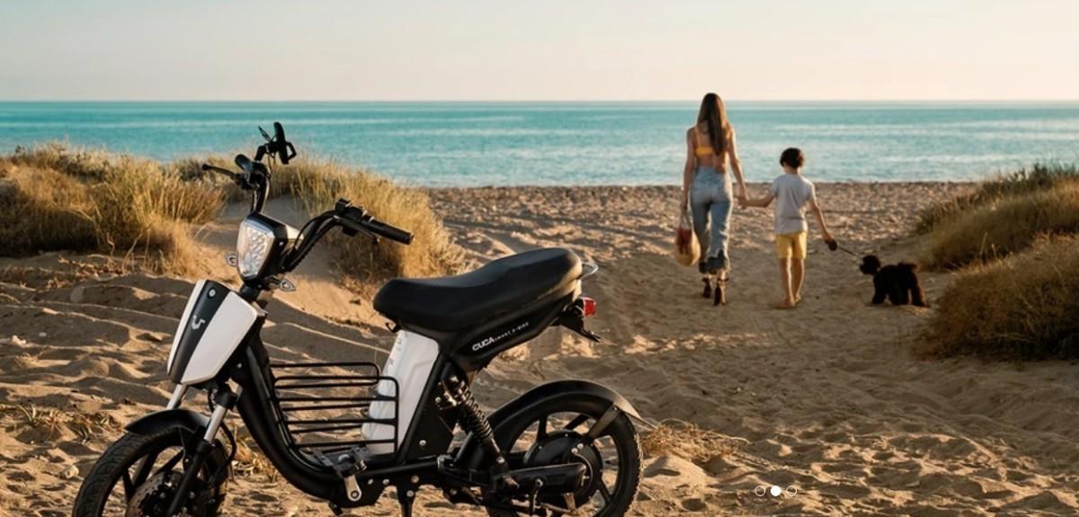 Cuca Smart e-Bike una Scooterbike ....