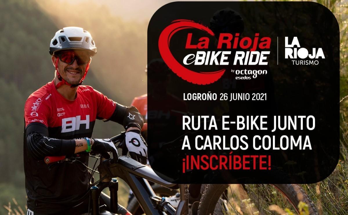 Despide a Carlos Coloma en una ruta muy especial con tu bicicleta eléctrica