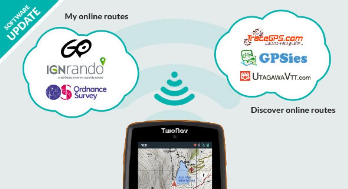 Disponible una nueva actualización para los GPS TwoNav