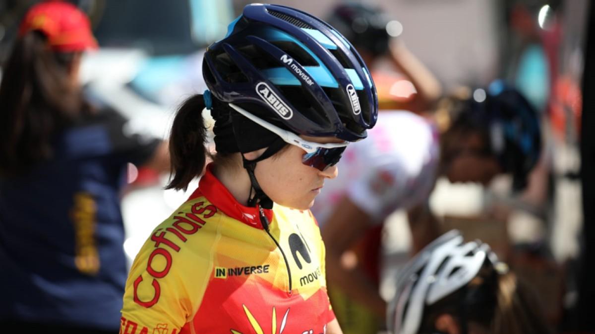 Eider Merino sigue pisando podio en el Tour de Ardeche