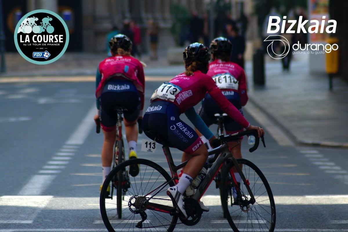 El Bizkaia-Durango estará en La Course by Le Tour