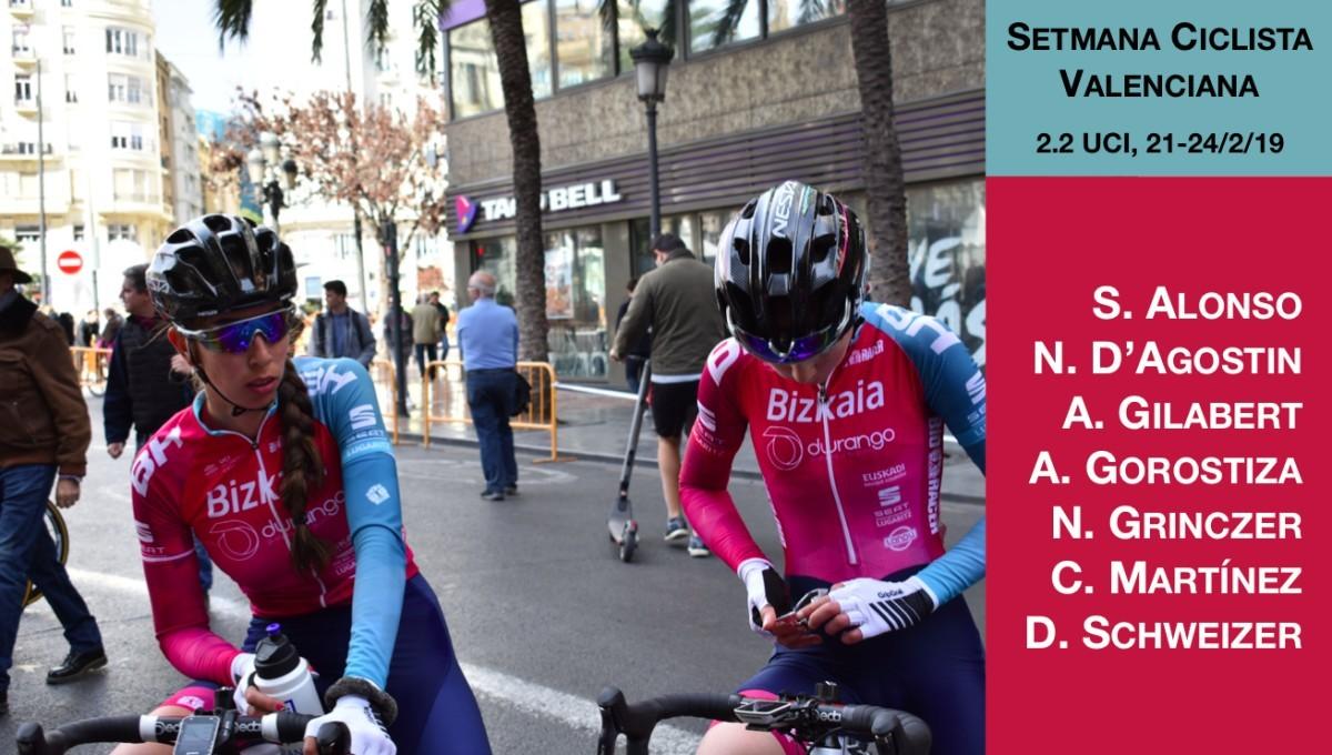 El Bizkaia-Durango se dejará ver en la Setmana Valenciana