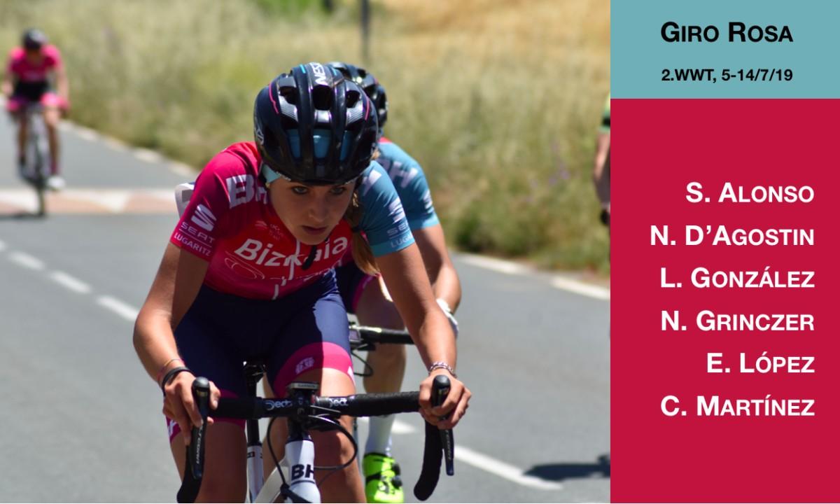 El Bizkaia-Durango tratará de brillar en el Giro Rosa 2019