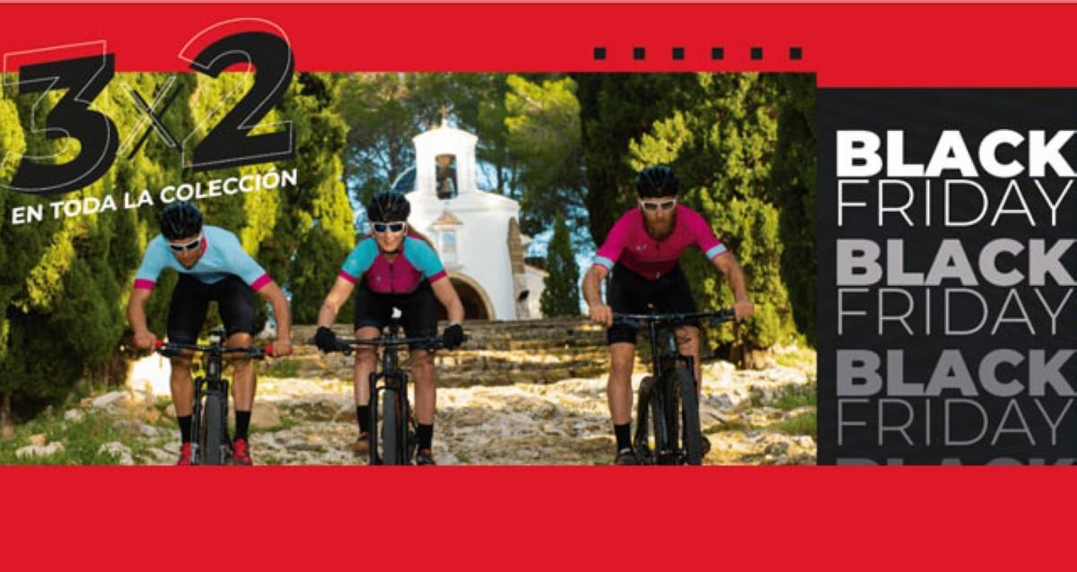 El Black Friday llega a la ropa ciclista de Faster Wear