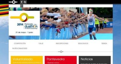 El Campeonato del Mundo de Duatlón de Pontevedra ya tiene web