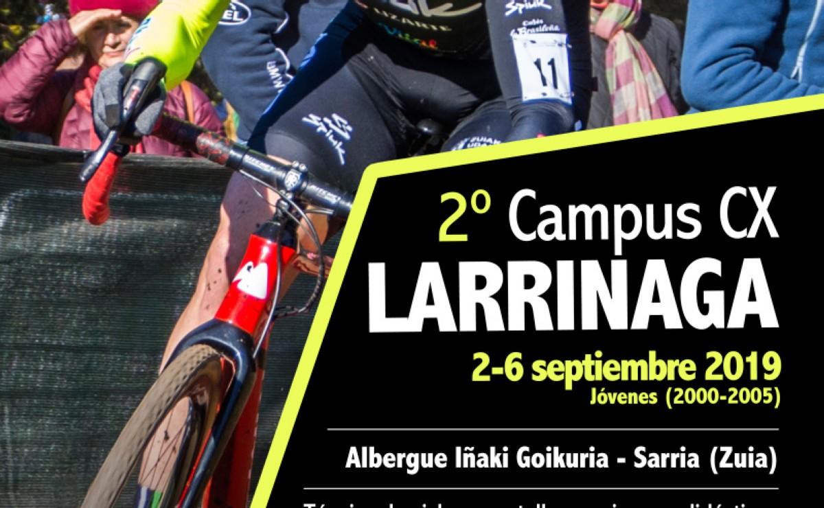 El Campus de Ciclocross Ruiz de Larrinaga tendrá segunda edición