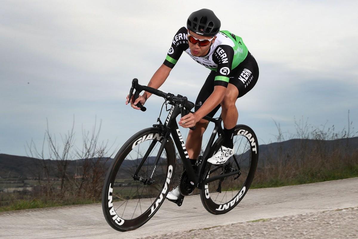 El ciclista taiwanés Sergio Tu correrá con el equipo Lizarte en 2021