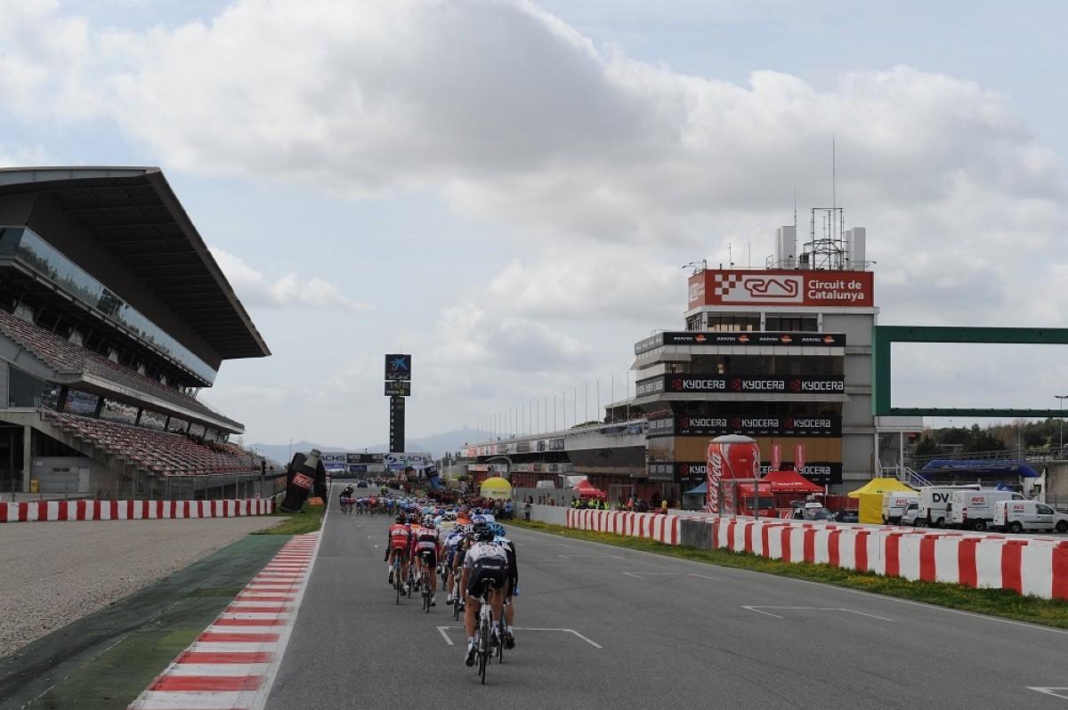 El Circuit de Barcelona-Catalunya será escenario de un esprint intermedio en La Volta 2021