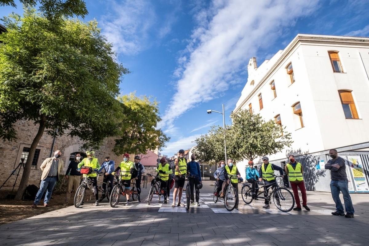 El Consorci de les Vies Verdes de Girona cede tres tándems a Mou-te en Bici