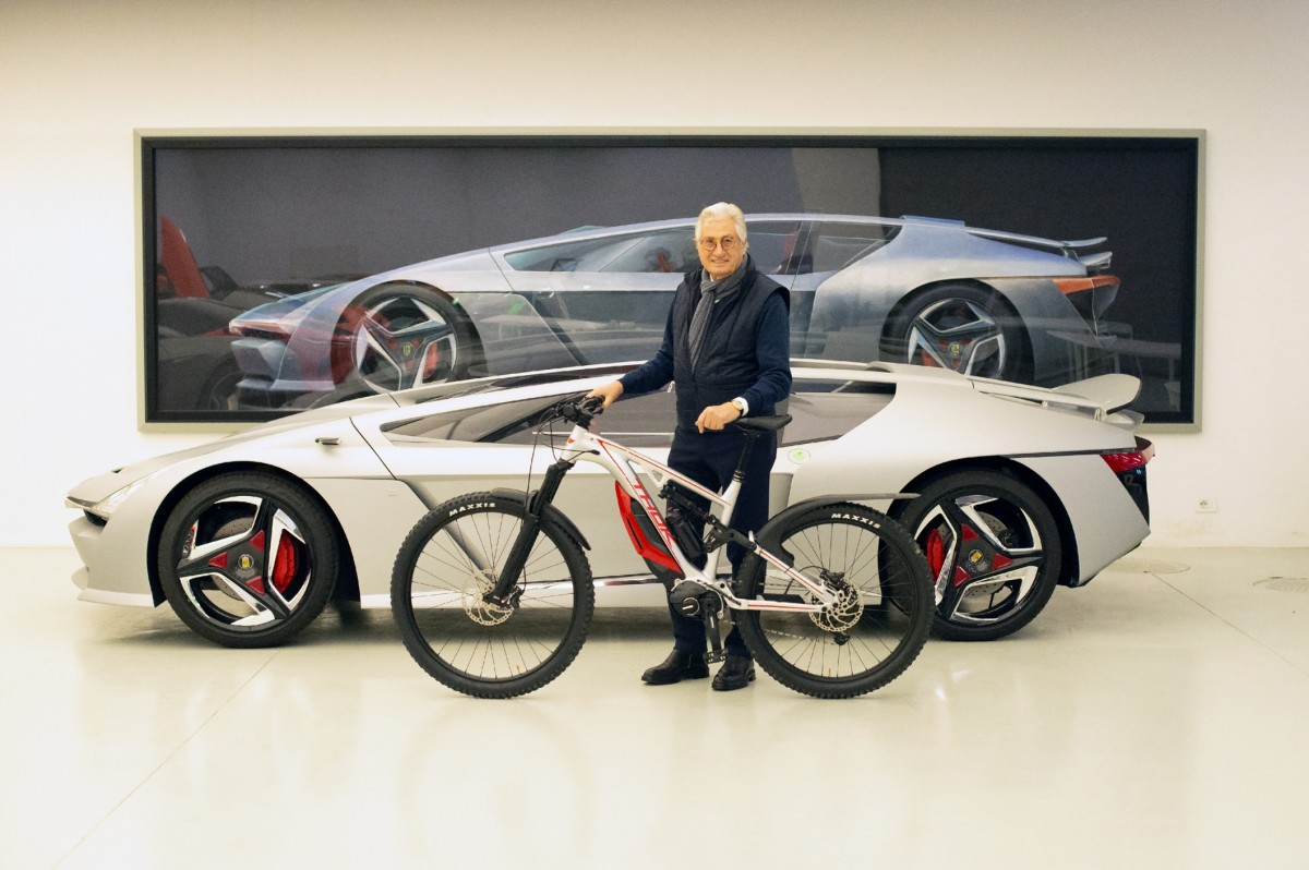 El diseñador de coches Giorgetto Giugiaro elige la Thok Mig 2.0 como su e-bike