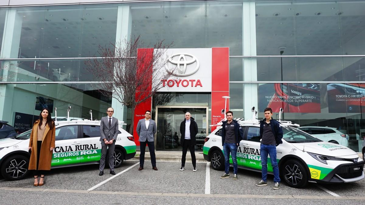El equipo Caja Rural-Seguros RGA 2021 más sostenible gracias a su colaboración con Toyota España