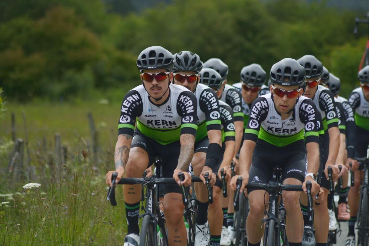 El Equipo Kern Pharma regresa a la competición en la Vuelta a Burgos 2020