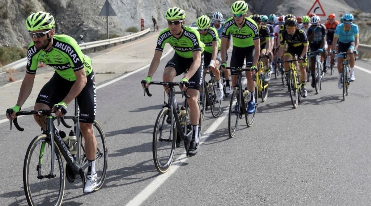 El Euskadi Murias se presenta con ambición en la Vuelta a Andalucía