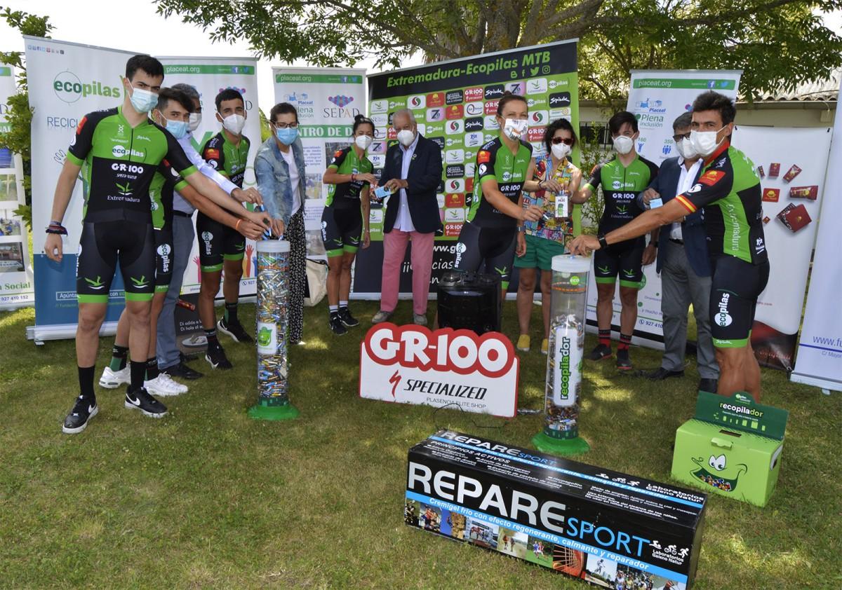 El Extremadura-Ecopilas MTB 2020 presentado en San Gil