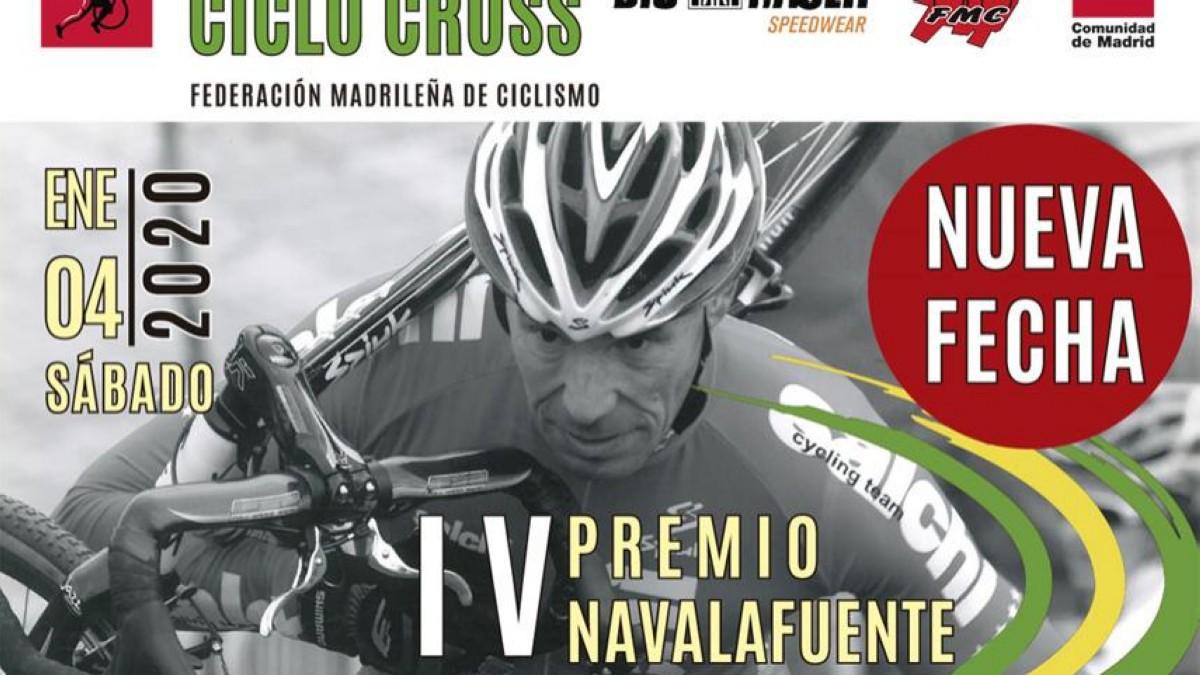 El IV Premio Navalafuente de ciclocross cierra la Copa Comunidad de Madrid