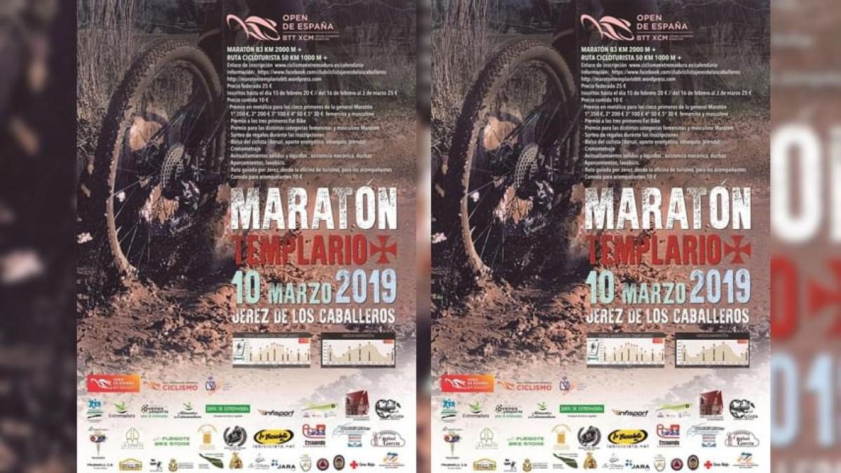 El Maratón Templario segundo reto del Open de España de XCM