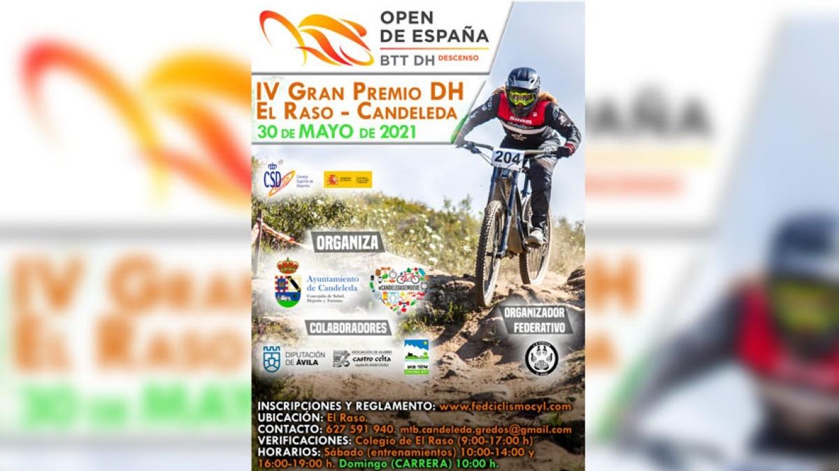 El Open de España de Descenso comienza en El Raso - Candeleda este próximo domingo