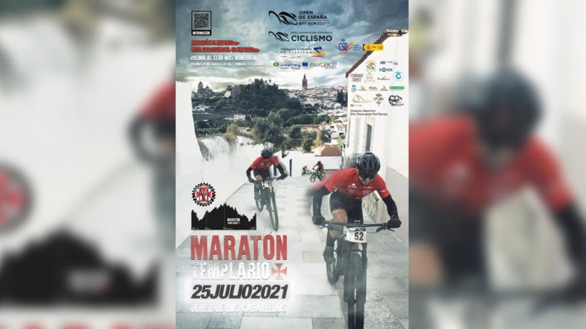 El Open de España de XCM continúa con el IX Maratón Templario de Jerez de los Caballeros