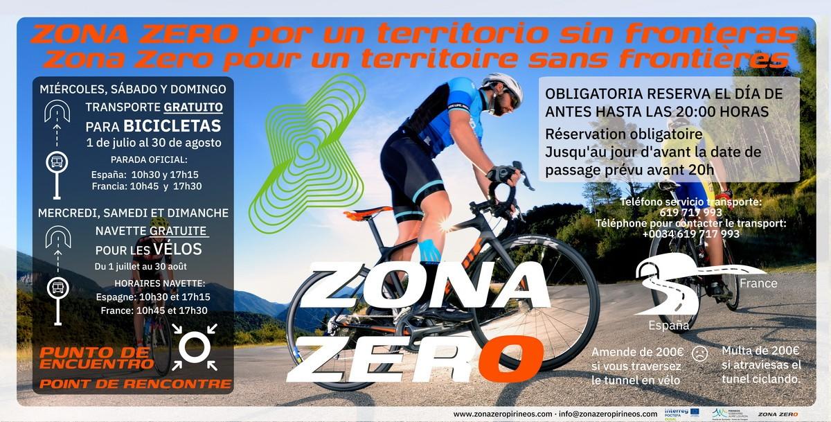 El servicio del paso de la bicicleta por el túnel bielsa - Aragnouet se repite este verano