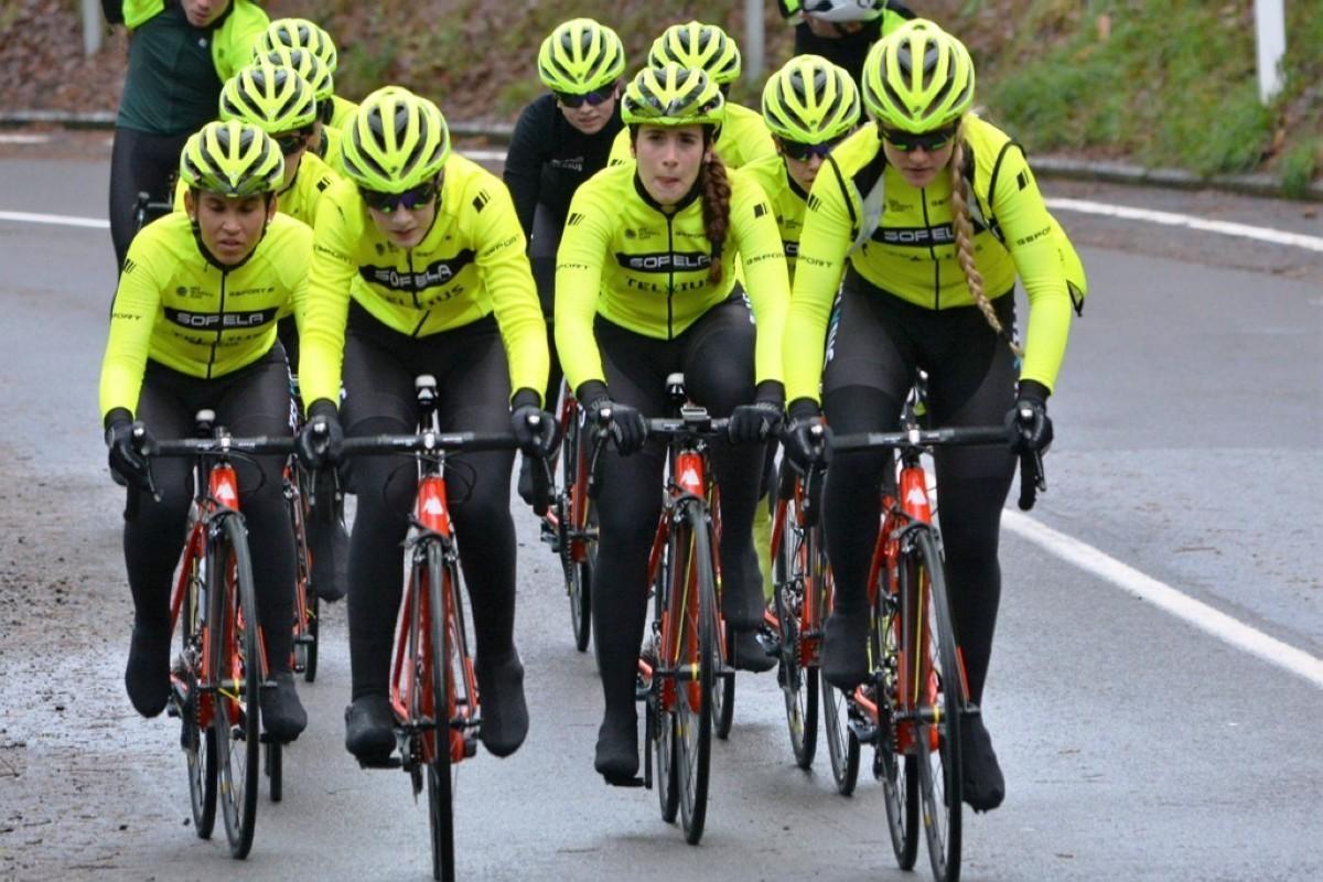 El Sopela Women Team preparado para la primera carrera del año